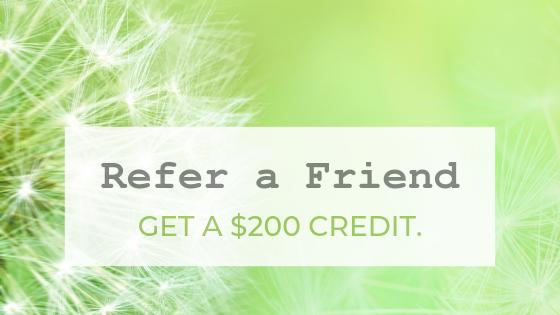 Refer a Friend, Get a $200 Credit