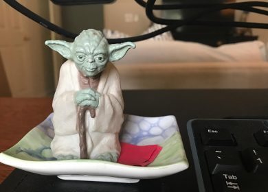 Yoda ... Oversees the business, he does.