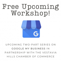 Free Google My Business Wordshop: April 14, 2021 & May 5, 2021