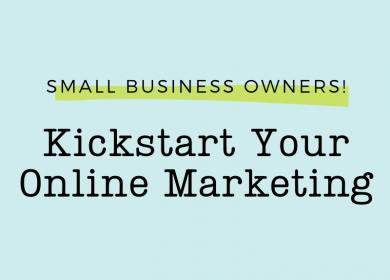 Kickstart Your Online Marketing