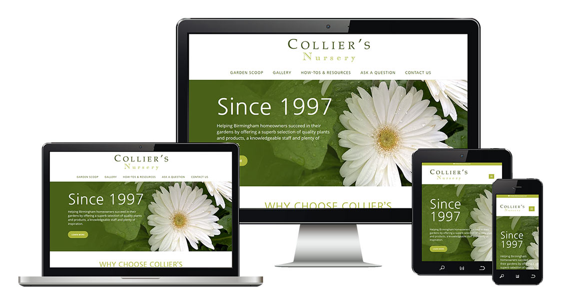Collier's Nursery launches their new site!