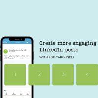 Using the LinkedIn PDF Carousel Post